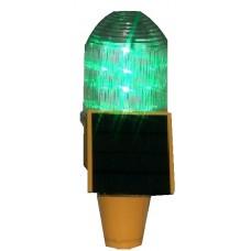 چراغ دکل خورشیدی با 50 لامپ LED سبز
