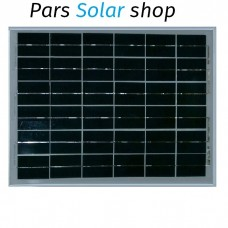 پنل 20 وات پلی کریستال خورشیدی