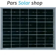پنل 30 وات پلی کریستال خورشیدی